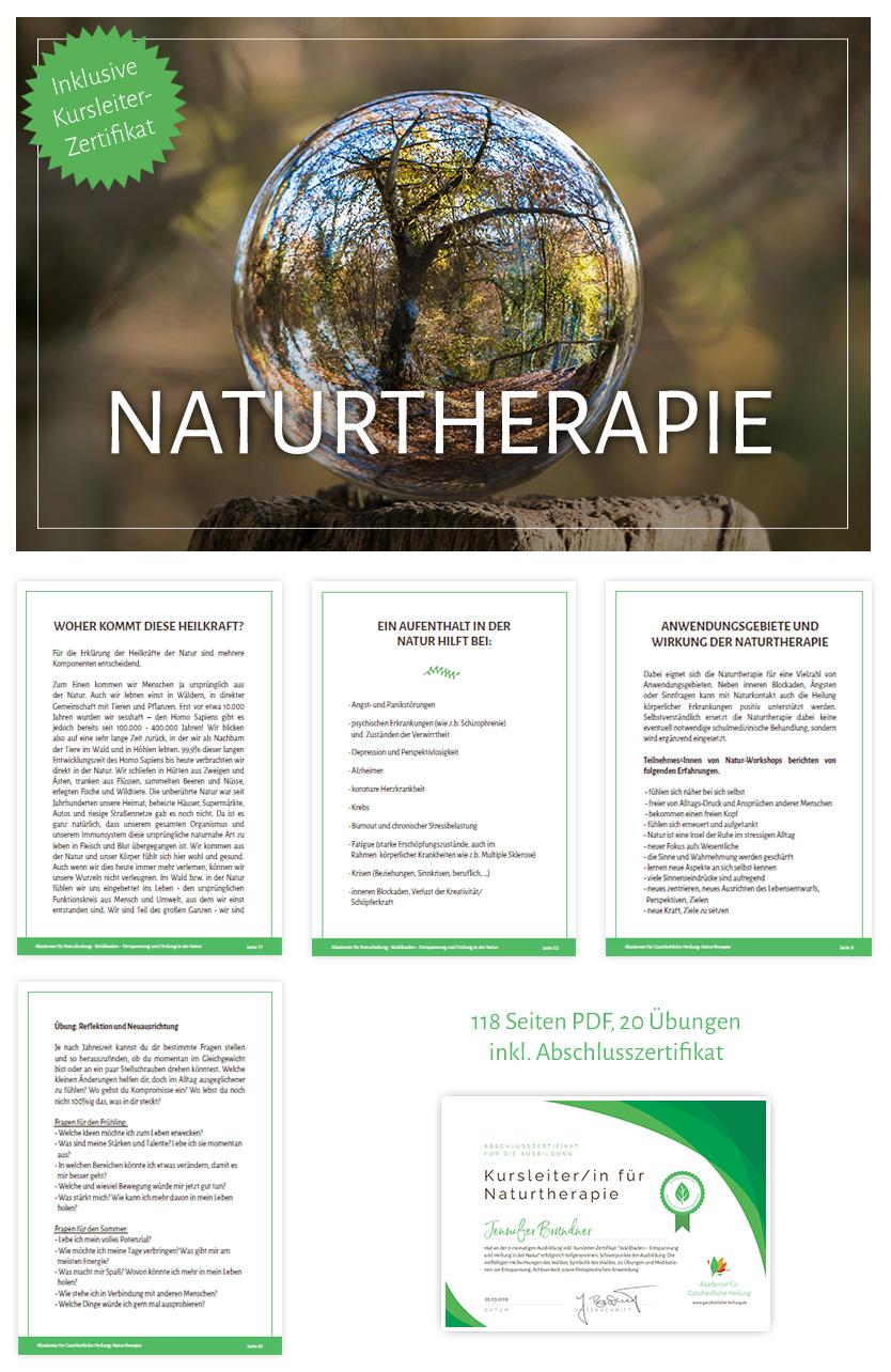 Naturtherapie & Naturcoaching inkl. Kursleiter-Zertifikat